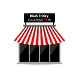 Svarta fredag shoppar symbolen Royaltyfria Foton