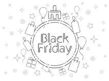 svarta friday royaltyfria bilder
