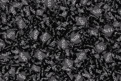 svarta friday Arkivfoto