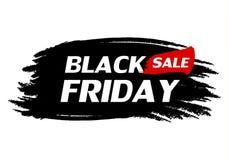 svarta friday försäljning stock illustrationer