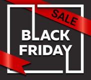 svarta friday Stor försäljning EPS 10 Royaltyfri Foto