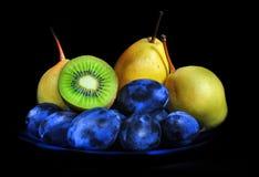 svarta frukter royaltyfri foto