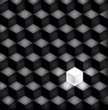 Svarta fyrkanter för bakgrund Arkivfoto