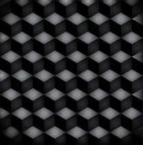 Svarta fyrkanter för bakgrund Royaltyfri Foto