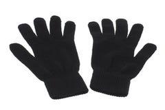 svarta handskar Arkivfoto