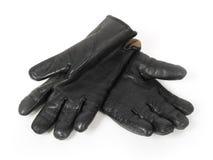 svarta handskar Royaltyfria Foton
