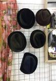 Svarta hattar Royaltyfri Fotografi