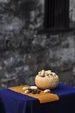 Svarta jordnötter Royaltyfri Fotografi