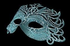 svarta karnevalmaskeringar för bakgrund Royaltyfri Foto