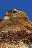 svarta klippor coast det steniga havet Royaltyfri Bild