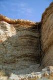 svarta klippor coast det steniga havet Arkivbild