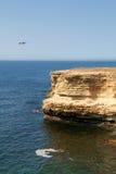 svarta klippor coast det steniga havet Royaltyfri Fotografi