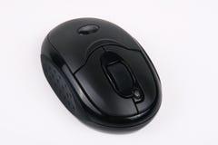 7 svarta knappar har musradion Royaltyfri Bild