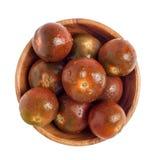 Svarta Krim tomater Fotografering för Bildbyråer