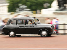svarta london taxar Arkivbilder