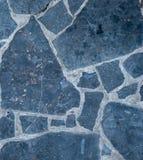 Svarta marmortegelplattor Arkivbilder