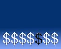 svarta monetära får Arkivbilder