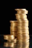svarta mynt royaltyfria foton