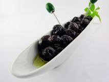 svarta olivgrön Royaltyfria Foton