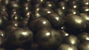 svarta olivgrön 2 skott stock video