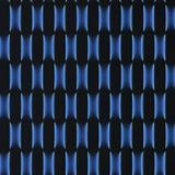 Svarta paneler med luminiscens framförande 3d Arkivbilder