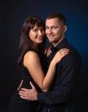 svarta par för bakgrund Fotografering för Bildbyråer