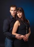 svarta par för bakgrund Royaltyfri Bild