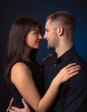 svarta par för bakgrund Royaltyfri Fotografi