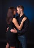 svarta par för bakgrund Arkivfoton
