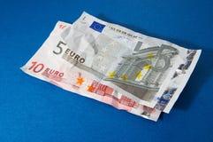 svarta pengar Arkivbilder