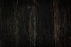 Svarta plankor Arkivbilder