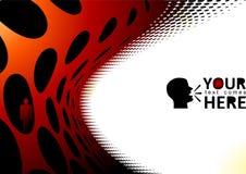 svarta prickar Royaltyfri Bild