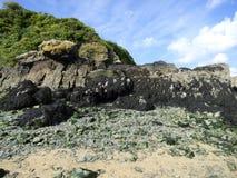 svarta rocks Royaltyfri Foto