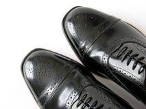 svarta skor Royaltyfria Foton