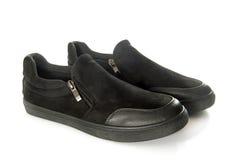 svarta skor Royaltyfria Bilder