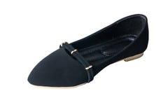 svarta skor Royaltyfri Fotografi