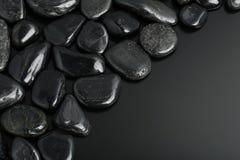 svarta stenar Royaltyfri Fotografi