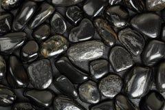 svarta stenar Royaltyfri Bild