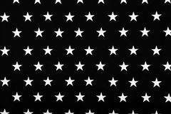 svarta stjärnor texture white Arkivbilder