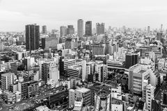 Svarta & vita Osaka Royaltyfri Bild