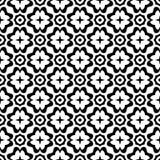 Svarta vita repetitiondesigner för vektor Arkivbild