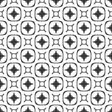Svarta vita repetitiondesigner för vektor Arkivfoton