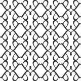 Svarta vita repetitiondesigner för vektor Royaltyfri Bild