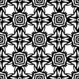 Svarta vita repetitiondesigner för vektor Royaltyfri Foto