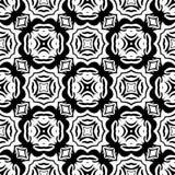 Svarta vita repetitiondesigner för vektor Arkivfoto