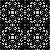 Svarta vita repetitiondesigner för vektor Fotografering för Bildbyråer