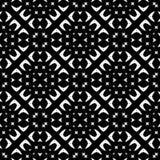 Svarta vita repetitiondesigner för vektor Royaltyfria Bilder