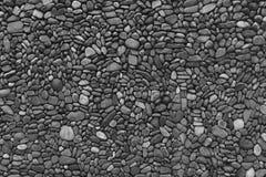 Svarta & vita väggstenar Arkivbilder