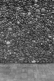 Svarta & vita väggstenar Royaltyfri Bild