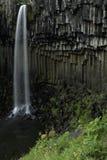 svartifoss Исландии Стоковые Фотографии RF